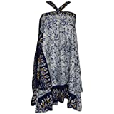 Holiday Recycle Sari Wrap skirt Purple Magic skirts