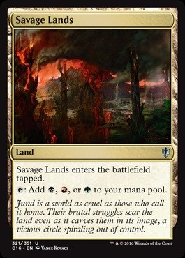 Magic: the Gathering - Savage Lands - Commander 2016