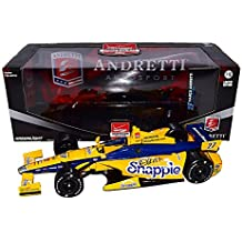 AUTOGRAPHED 2015 Marco Andretti #27 Snapple Racing (Andretti Autosport Team) Honda 1-18 Scale Greenlight Verizon Indy Car Series Diecast with COA (#0415 of only 1,000 produced!)