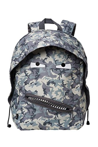 ZIPIT Grillz Backpack, Camo Grey