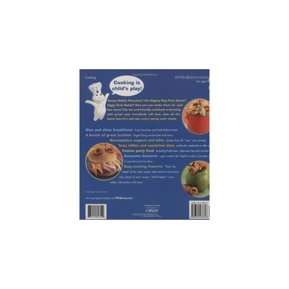 Pillsbury Kids Cookbook Food Fun for Boys and Girls (Pillsbury Cooking)