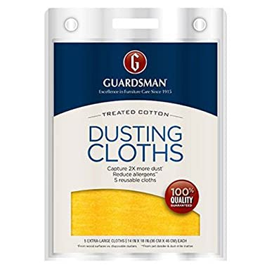 Guardsman Dusting Cloths 5-Count 462700