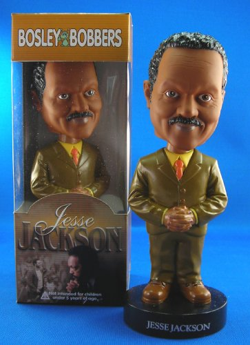 Linited Edition Rare Jesse Jackson Bobble Head Bobblehead Collectible