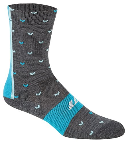 Louis Garneau Women's Altitude 4000 Socks, Gray/Gray, Medium