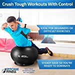 NATARIFITNESS..COM  512gc6CYKDL._SS150_ Exercise Ball Base for Stability - Stand for Balance Balls Fits Balls from 55cm to 75cm - Convert Stability Ball to…