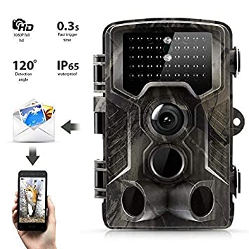 SunTek 2G Cámara de Caza, 16MP 1080P Trail Cámara con 42pz IR LED ...