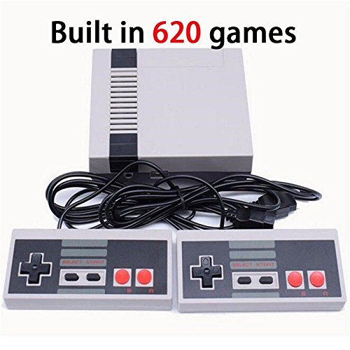 Classic Built-in 620 TV Video Mini Game Consoles Game With Dual Controllers U.S. regulations