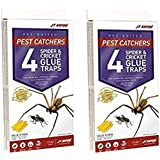 JT Eaton 844 Pest Catchers Large Spider and Cricket Size Attractant Scented Glue Trap