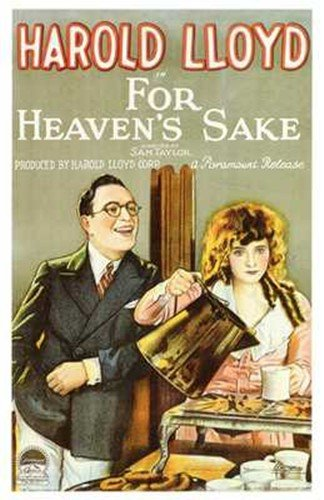 For Heaven's Sake Poster Movie 11x17 Harold Lloyd Jobyna Ralston Noah Young James Mason from Pop Culture Graphics