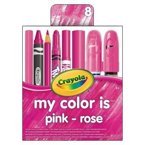 Crayola My Color is Pink