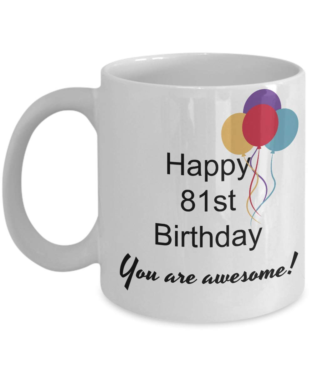 Amazon 81st Birthday Gifts For Women