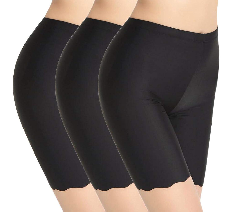 94e768e31fbc Top7: TRISTIN Womens Boxer Briefs Soft Underwear 3-Pack Black/Beige/White  Under Skirt Shorts Panty Silk&Spandex Stretch Boyshorts