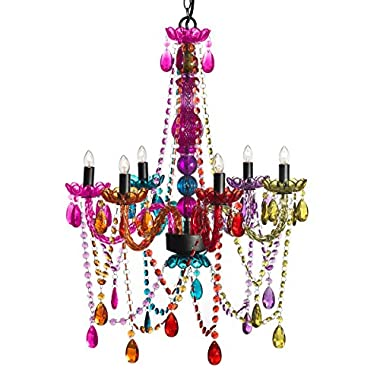 3C4G Chandelier, Multi Color