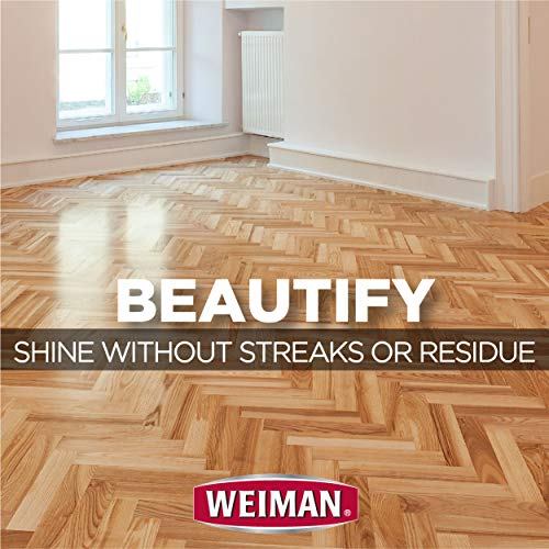Weiman Wood Floor Cleaner [2 Pack] 32 Ounce - Hardwood Finished Oak Maple Cherry Birch Engineered and More - Professional Safe Steak-less by Weiman (Image #5)