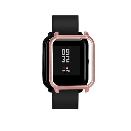 MYQyiyi Protector de Pantalla del Reloj Inteligente para Xiaomi Huami Amazfit Bip Youth Watch (Oro