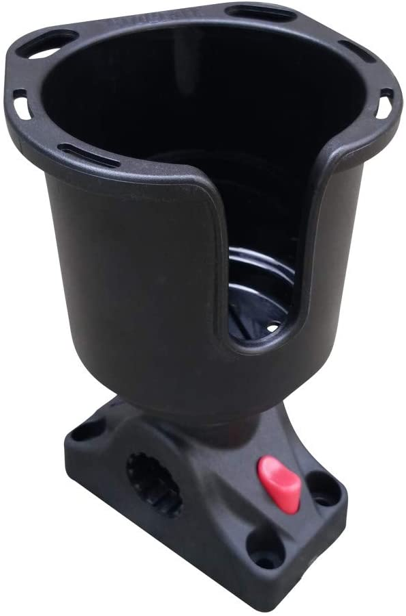 Brocraft Drink Holder for Deck/Side Mount/Deck Mount Cup Holder/Kayak Drink Holder