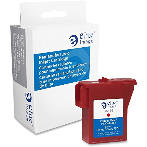 Elite Image Remanufactured Ink Cartridge - Alternative for Pitney Bowes (PB5700) - Red from Elite Image