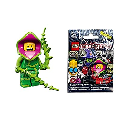 Lego Minifigures Series 14 : Plant Monster Guy x1 Loose: Toys & Games