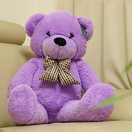 Amazon.com: Joyfay Big Purple Teddy Bear-Giant 47