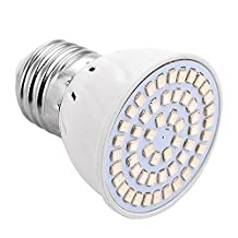 KIND GREENS E27/E26 54LED Grow Light Bulbs for Indoor Plant Flowering 2835SMD 4W 200-300Lm Red-Blue Grow Lamps (AC 220V/AC 110V) Indoor Lighting Pendant Bulbs ( Size : 110V )