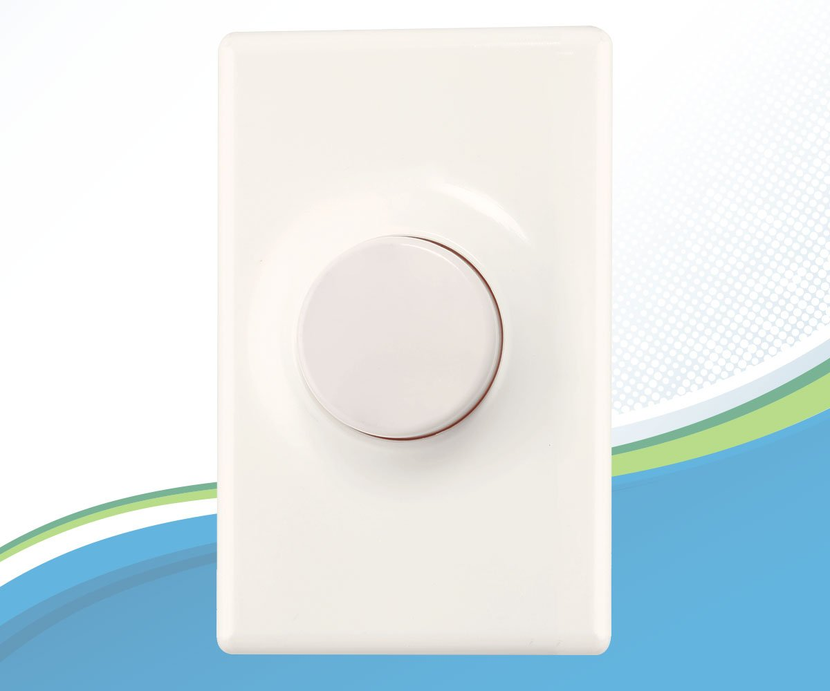 300 Watt Viribright Dimmer for LED Light Bulbs with Wallplate Dimmer Switch for LED Lights No Hub Required White Single-Pole 600 Watt and Incandescent