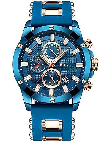 de55eaa4e075b Mens Watches Analogue Quartz Watch Fashion Business Date Watch Sports  Waterproof Chronograph