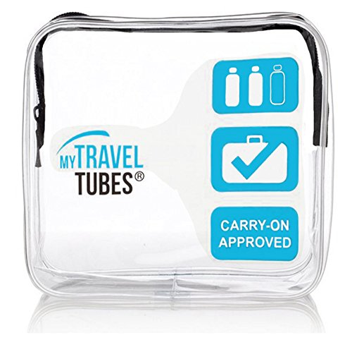 TSA Approved 3-1-1 Airline Carry On Clear Travel Toiletry Bag | Quart Sized Tsa Quart Bag