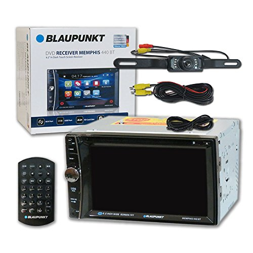 Blaupunkt Columbus 100 Stereo Receiver and GTX650 6.5-Inch 360W Coaxial Speaker Bundle BPDCLM650PK