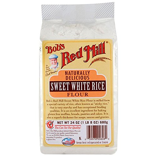 Make Easy Gluten Free Crepes with Rice Flour with Bob's Red Mill Sweet White Rice Flour - 24 oz