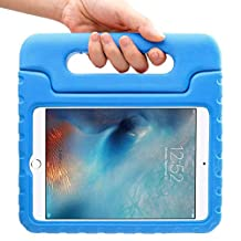 iPad Mini 4 Case – Travellor® for Kids Light Weight Convertible Handle Stand Kids Friendly Protective Shockproof Cover with Stand & Handle for Apple iPad Mini 4 (iPad Mini 4, Blue)