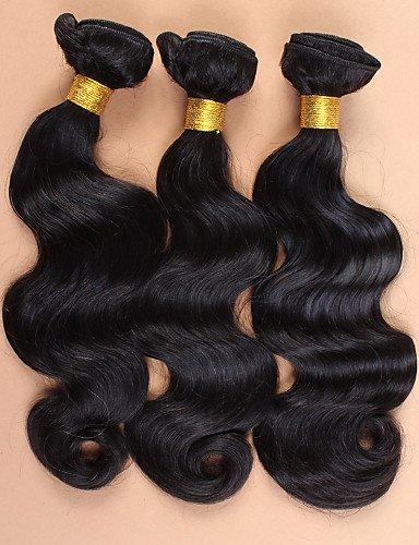 Corps La middle Cheveux Du Transformés D'ondes Avec 7a Brésiliens De 10 Faisceaux 100Humains 14 8 Base 12 Non JffSlove Fermeture Soie Part Vierges xBrCstQdho