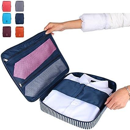 Viajes Corbata Caso embalaje equipaje camisa organizador Tidy ...