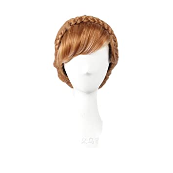 Amazon.com  WeeH Women Wigs Long Hair Cosplay Wig Movie Cartoon Costume Updo  Curly Wigs for Halloween Theme Party 63919a9fb