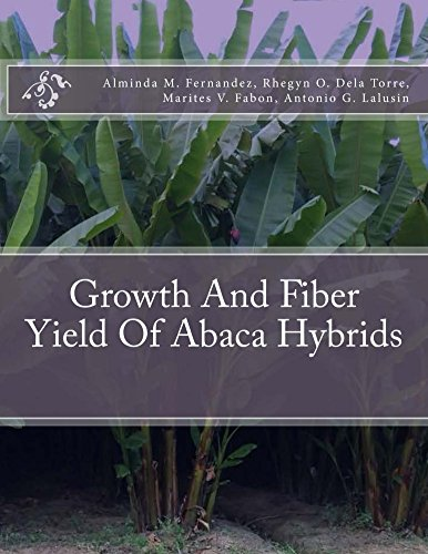 Growth And Fiber Yield Of Abaca Hybrids