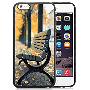 New Personalized Custom Designed For iPhone 6 Plus 5.5 Inch Phone Case For Autumn Park Bench Phone Case Cover