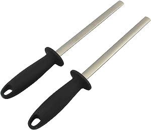 10 inch diamond knife sharpening steel rod kitchen&home&chef knife sharpener