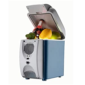 WLIXZ 7.5L Car Refrigerator, 12V Cooling and Warming Mini Fridge, for Truck Party, Travel, Picnic Outdoor, Camping