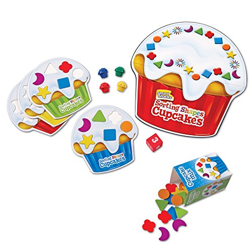 Learning Resources Smart Snacks Shape Sorting Cupcakes Game d8bcc765ede9