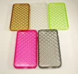 Office Products : iPhone 6 / 6S (4 or 5 Pack) COVERSUIT Ultra Thin iPhone 6 Case Crystal Clear Soft Back Panel Shock Absorbing Colored Protective TPU Bumper Case for iPhone 6 6s (4.7 inch) - (Bundled #3)