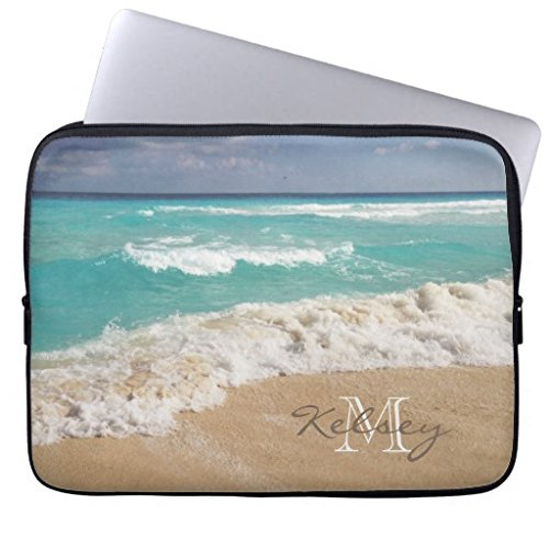 Trendy Laptop Sleeve Beach and Coastal Computer Case 17 17.3 Inch Netbook Tablet Laptop Case Soft Neoprene Sleeve Case Cover for 17