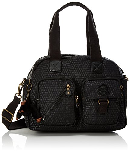 Kipling Defea Black Scale Emb