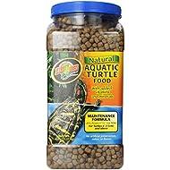Zoo Med Natural Aquatic Turtle Food, Maintenance Formula, 45-Ounce