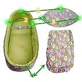 OLizee baby carrycot infant carrier snuggle nest baby infant cribs infant transporter Nursery Portable Infant basket (Pink)