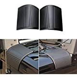 Ice-man 2pcs New Black Cowl Body Armor Outer Cowling Cover For Jeep JK Wrangler & Unlimited 2/4 Door 2007 2008 2009 2010 2011 2012 2013 2014 2015 2016 (Classic version)