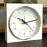 WHW Whole House Worlds Elemental Block Clock with
