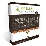 Primal Kitchen - Dark Chocolate Almond Collagen Protein Bars, 12 Grams of Protein, Paleo Approved (Pack of 6, 1.7 oz)