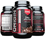 ORIGIN-Whey-Isolate-Protein-Powder-100-Pure-Whey-Protein-Isolate-Sugar-FREE-Soy-FREE-Gluten-FREE-Lactose-FREE-Non-GMO-Best-Tasting-Whey-Isolate-Build-Muscle-Recover-Faster-Chocolate-2-lb