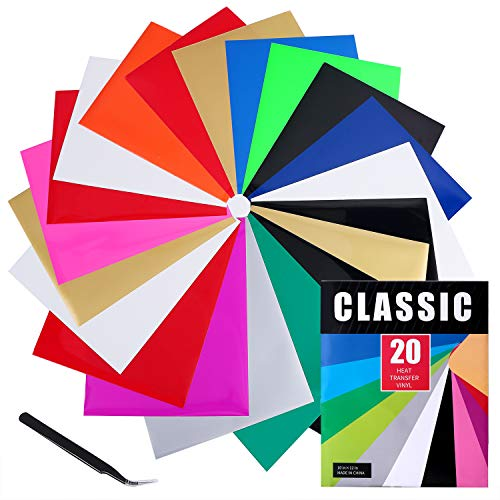 Classic Assorted Colors 20 Sheets 12