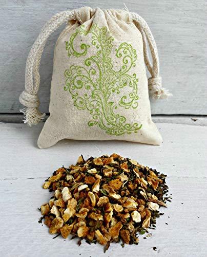 Mint Citrus Sachets | Scented Sachets | Mint Sachet Favors | Peppermint Sachets | Sachet Bag | Mint Aromatherapy | Peppermint Drawer Sachets