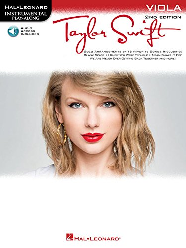 Taylor Swift: Viola Play-Along Book with Online Audio PDF